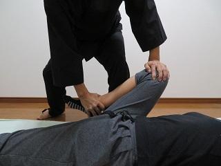 関節技_膝